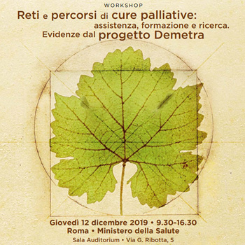 Workshop: Reti e percorsi di cure palliative