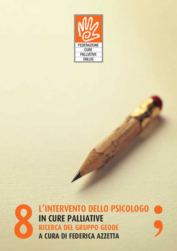 L'intervento dello psicologo in cure palliative